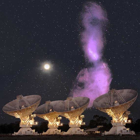 Τα Ραδιοκύματα του Κενταύρου