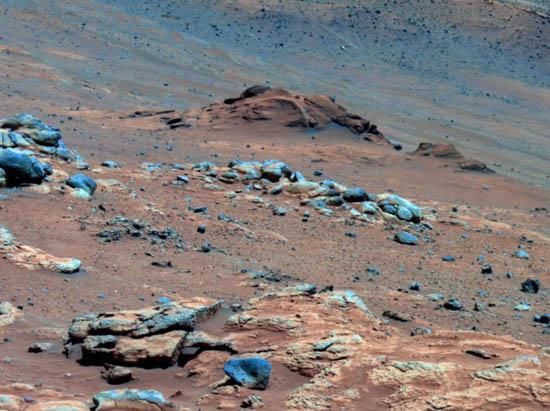 Προεξοχή στον Άρη Υποδεικνύει Φιλόξενο Παρελθόν