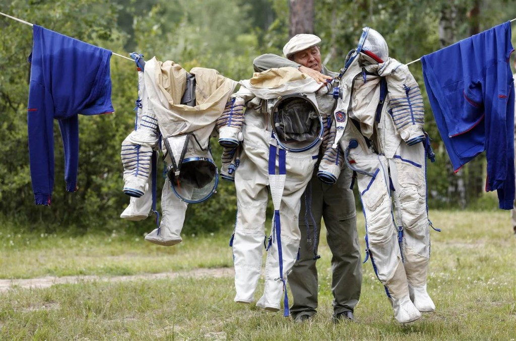 Διαστημικές Στολές για Στέγνωμα