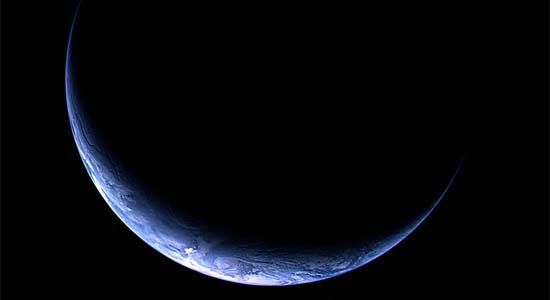 Η Γη από το Διαστημικό Σκάφος Rosetta