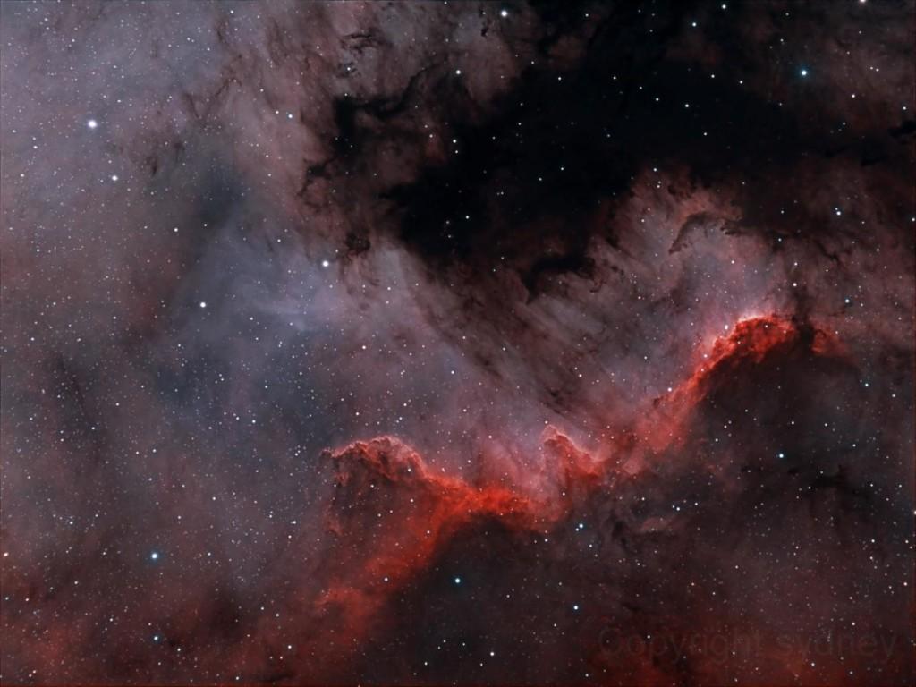 Το Τείχος Σχηματισμού Άστρων στον Κύκνο