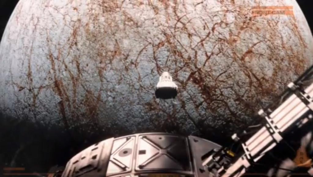 Αστροναύτες Εξερευνούν το Φεγγάρι του Δία, Ευρώπη