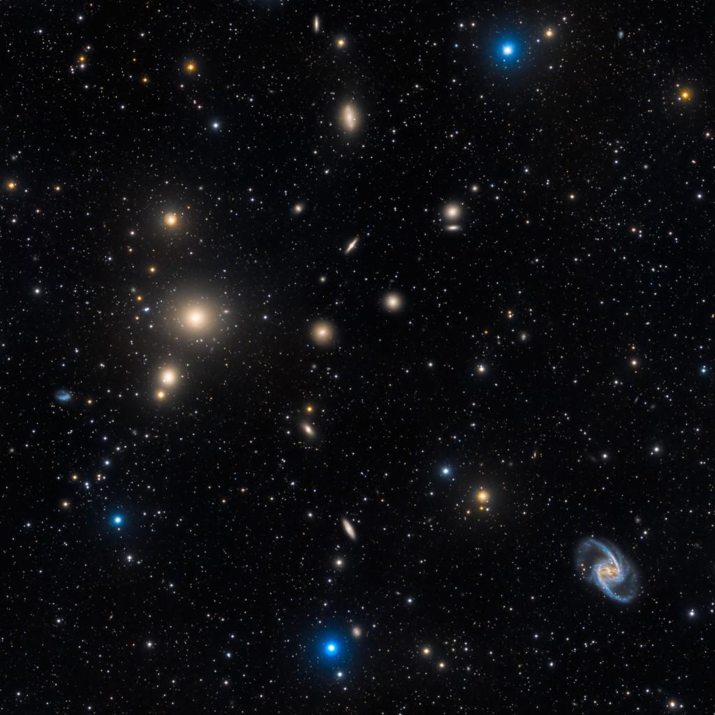 Το Σμήνος Γαλαξιών της Καμίνου