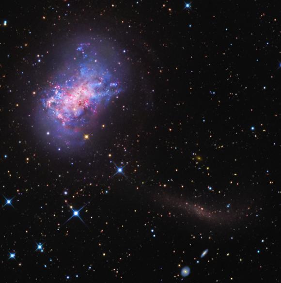 Ροή Αστεριών σε έναν Γαλαξία Νάνο