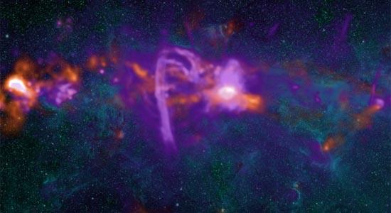 Η Κεντρική Μοριακή Ζώνη του Γαλαξία