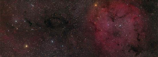 Το IC 1396 και το τριγύρω Αστρικό Πεδίο