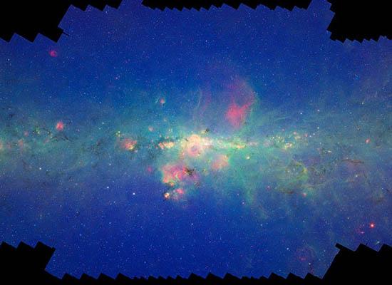 Ο Γαλαξίας μας από το Spitzer
