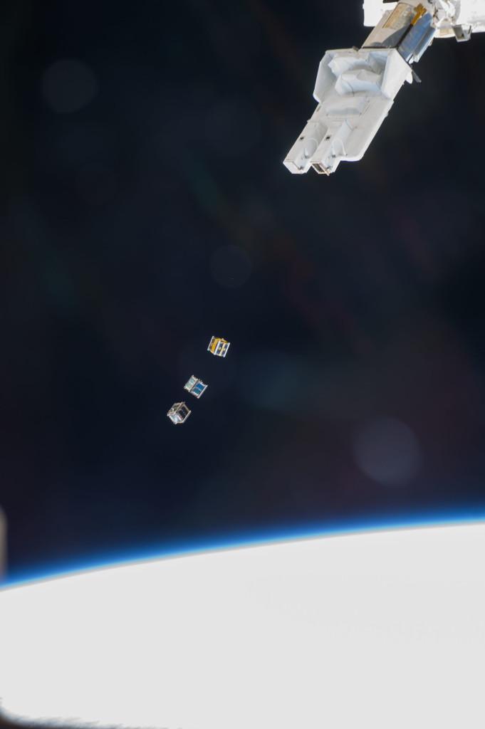 Nanosatellites Ελευθερώθηκαν Από Τον Διαστημικό Σταθμό