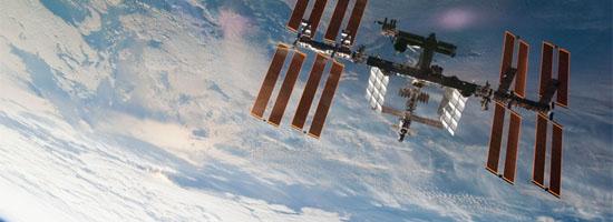 Ο Διεθνής Διαστημικός Σταθμός από Ψηλά