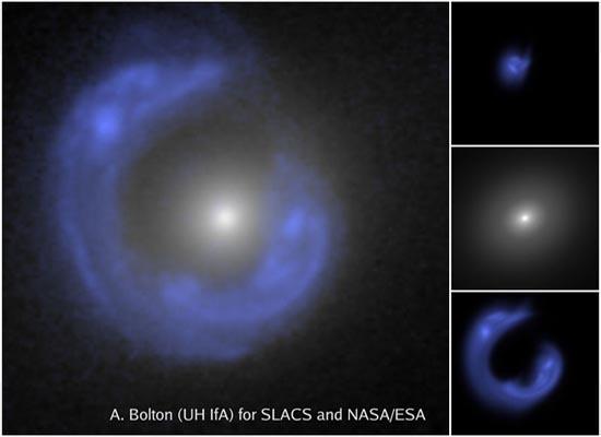 Ένας Γαλαξιακός Δακτύλιος Αϊνστάιν