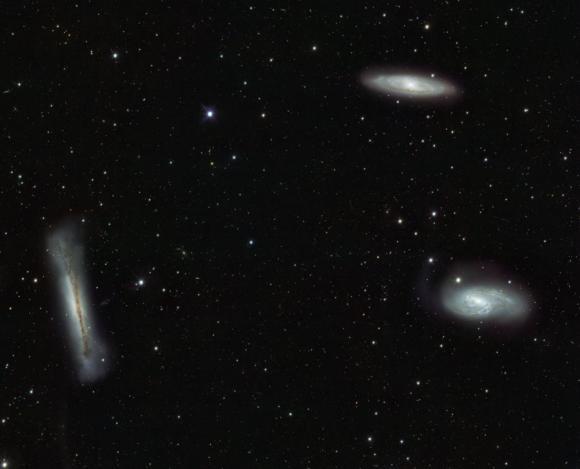 Οι Τρίδυμοι Γαλαξίες του Λέοντα
