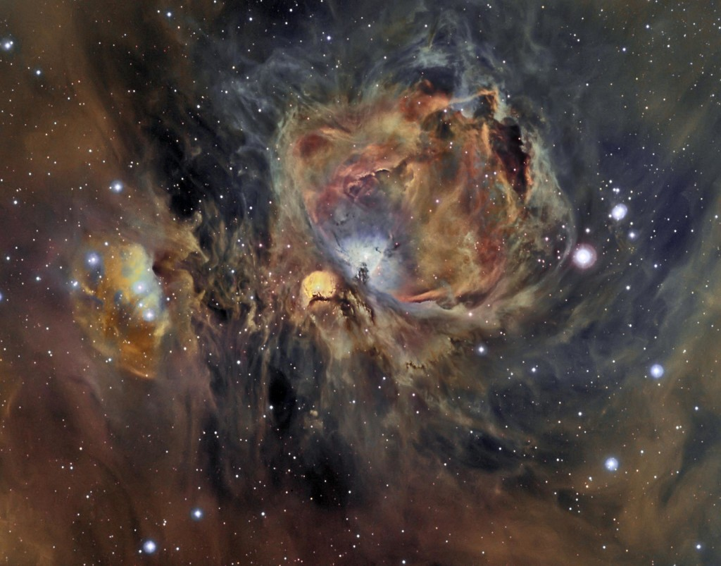 Το Νεφέλωμα του Ωρίωνα σε Οξυγόνο, Υδρογόνο και Θείο
