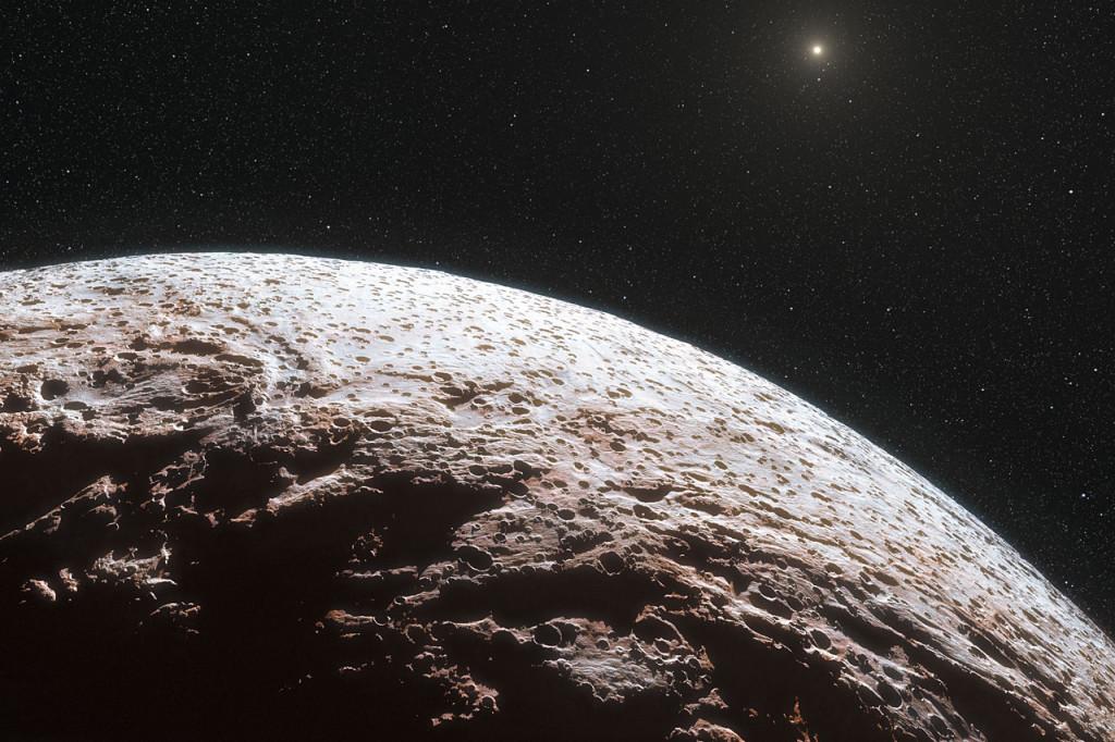 Ο Μακεμάκε στο Εξωτερικό Ηλιακό Σύστημα
