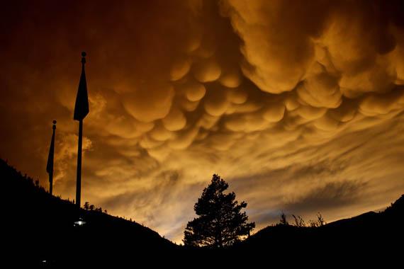 Σύννεφα Mammatus