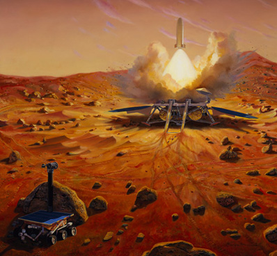 Κάνοντας την αποστολή για την επιστροφή δειγμάτων από τον Άρη πιο προσιτή