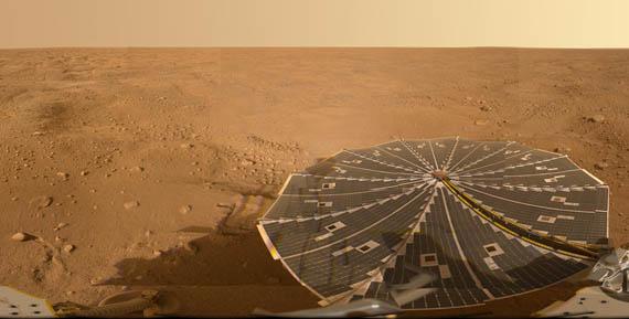 Πανόραμα του Άρη από το Φοίνιξ