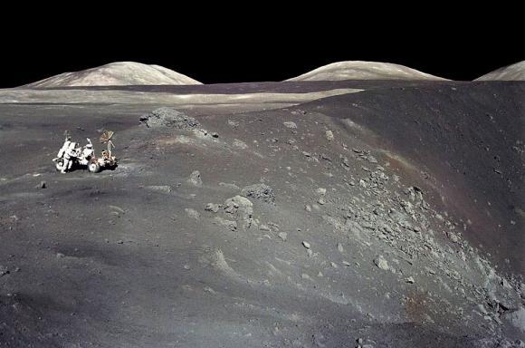 Το Απόλλων 17 στον Κρατήρα Shorty