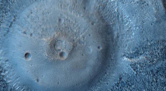 Πιθανό Ηφαίστειο Λάσπης στον Άρη