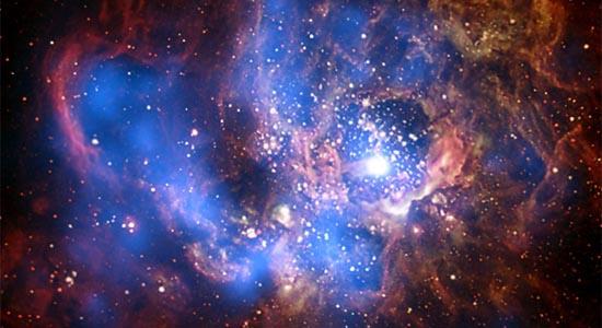Ακτίνες Χ από ένα Γιγαντιαίο Αστρικό Φυτώριο