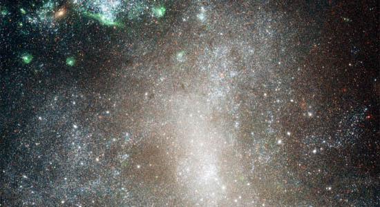 Τα Αστρικά Σμήνη του NGC 1313