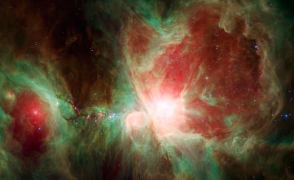 Ο Ωρίωνας από το Spitzer