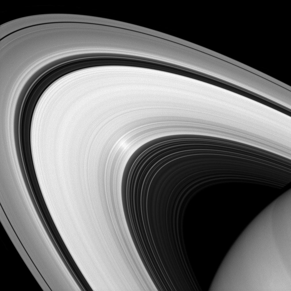 Υπέρυθρη Εικόνα των Δακτυλίων του Κρόνου