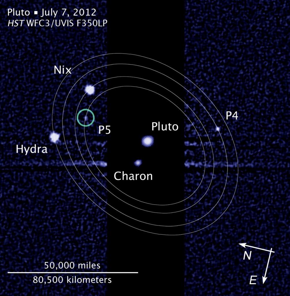 Πέμπτο Φεγγάρι ανακαλύφθηκε σε τροχιά γύρω από τον Πλούτωνα