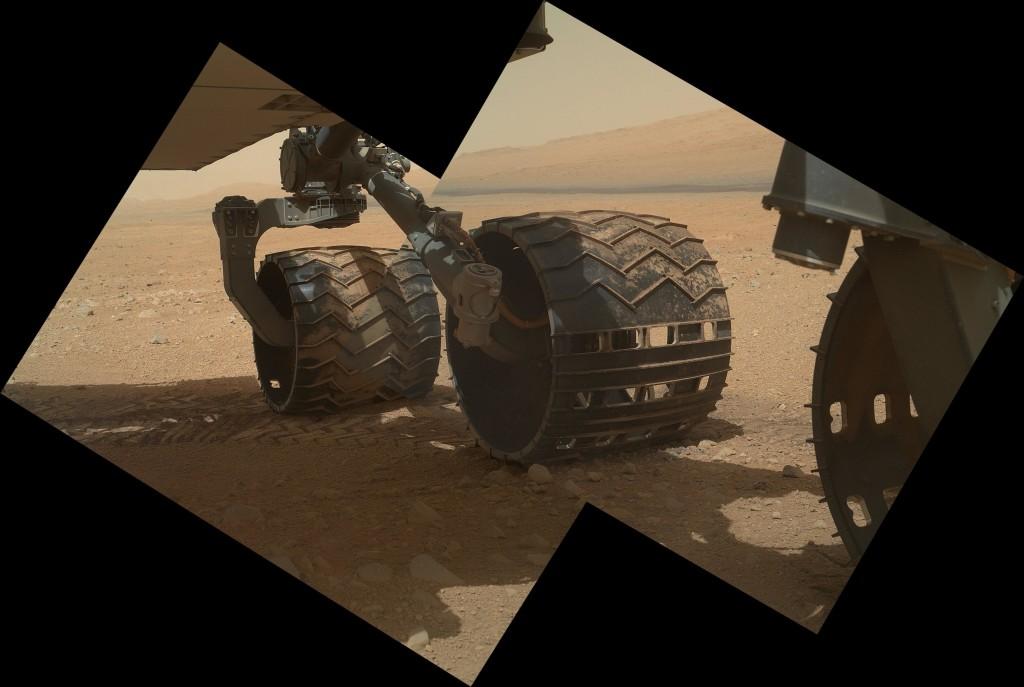 Τροχοί στον Άρη