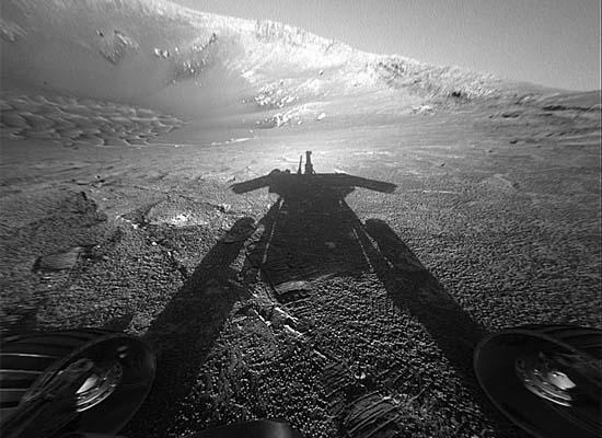 Σκιά ενός Αρειανού Ρομπότ