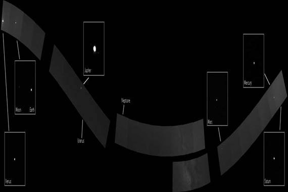 Το Ηλιακό Σύστημα από το MESSENGER