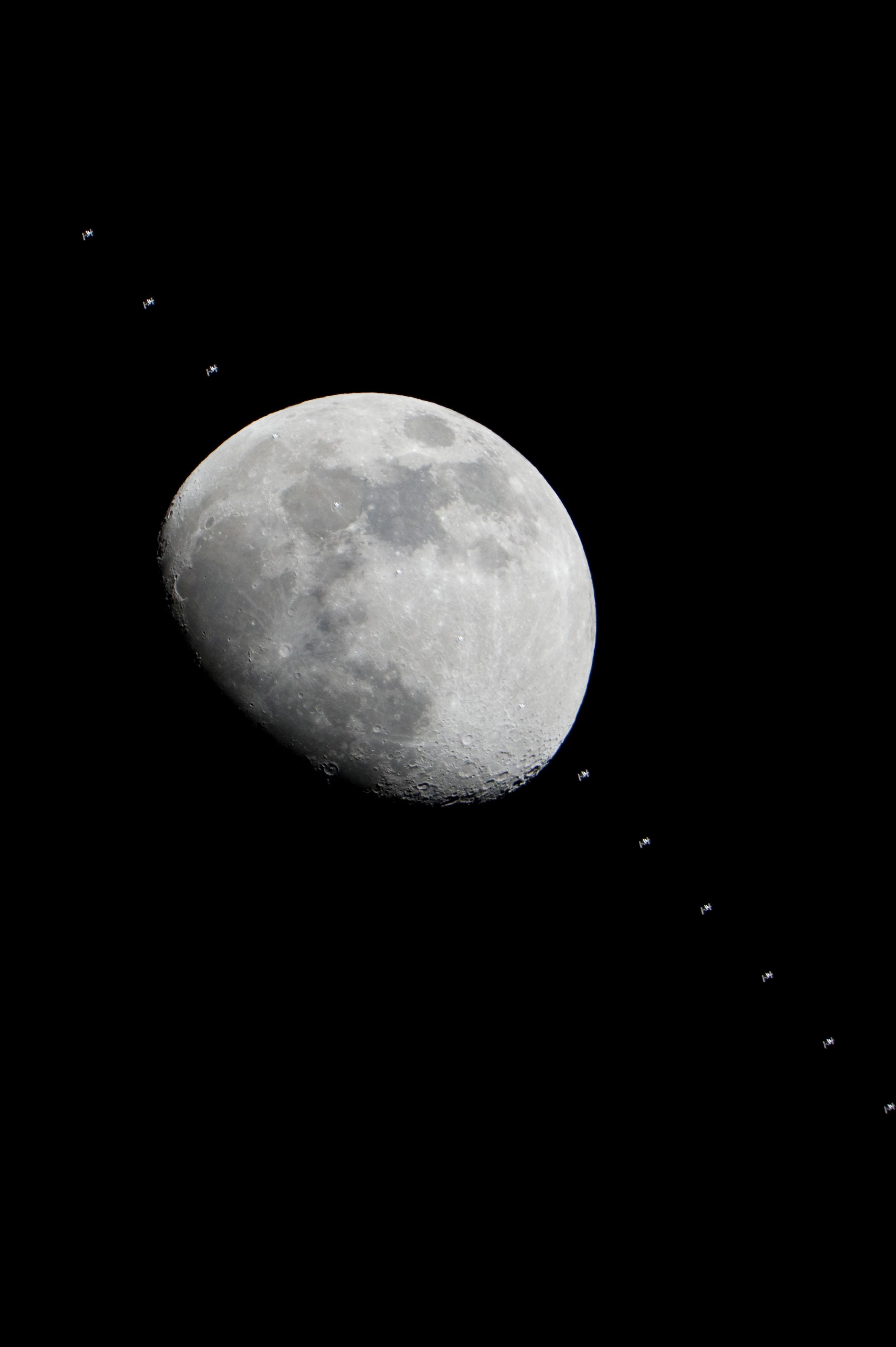 Ο Διαστημικός Σταθμός κοντά στο Φεγγάρι και τον Δία