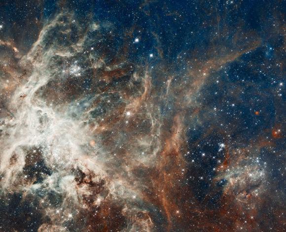Σχηματισμός Αστεριών στο Νεφέλωμα Ταραντούλα