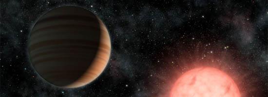 Ένας Μεγάλος Πλανήτης σε Τροχιά Γύρω από ένα Μικρό Αστέρι