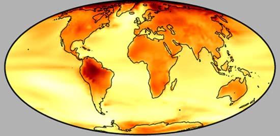 Προβλέψεις Υπερθέρμανσης του Πλανήτη