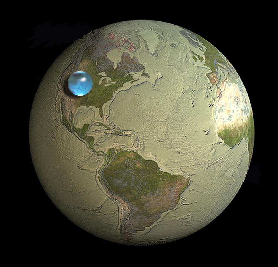 Όλο το Νερό στον Πλανήτη Γη